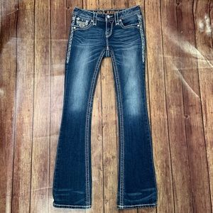 Rock Revival Signy Mid Rise Bootcut Jeans